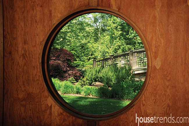 Tea House gets the best view of a garden