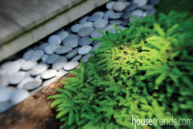 Garden design hides functionality behind beauty