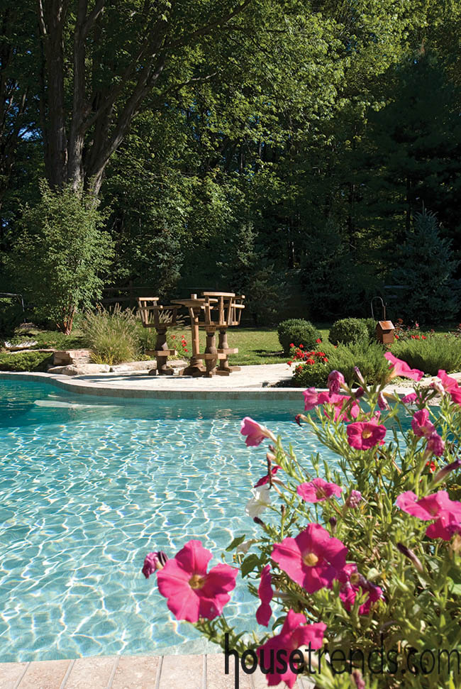 Landscape design respects Mother Nature