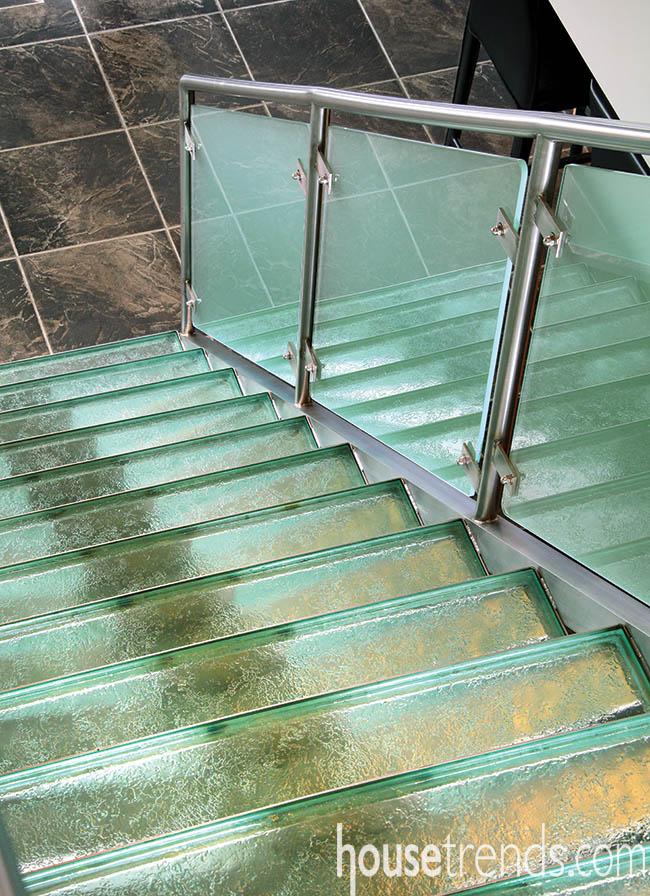 Stairs follow a unique design