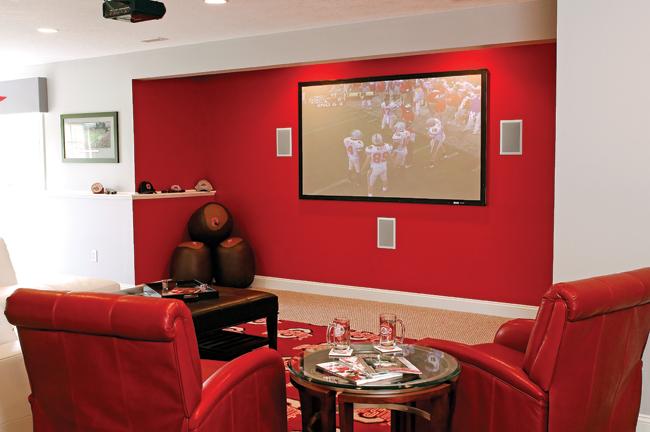 Homeowners design honors the Ohio State Buckeyes