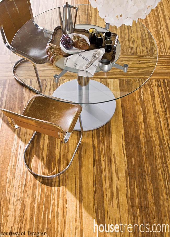 Bamboo flooring gaining popularity among homeowners