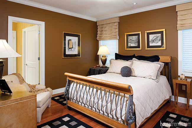 Cozy guest bedroom design