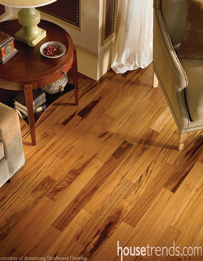 Flooring hides strength behind beauty