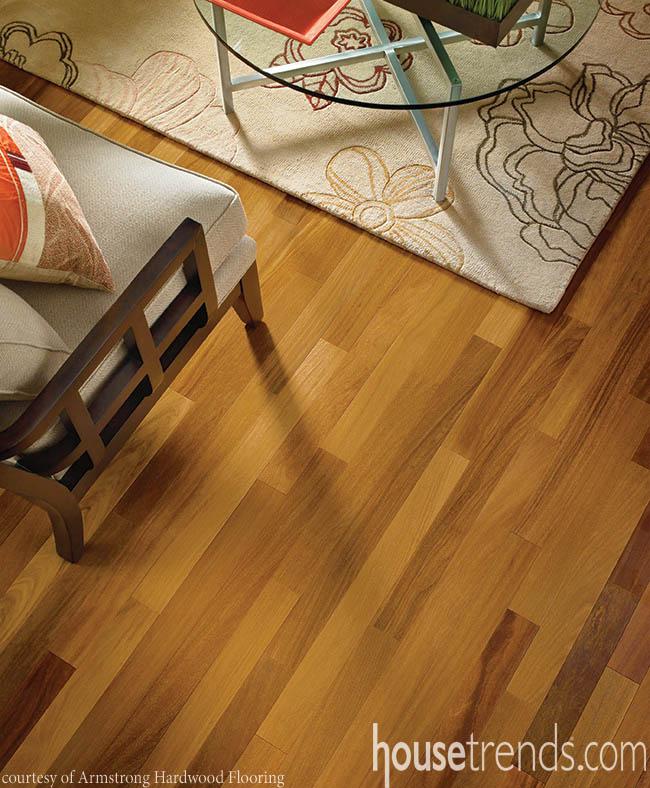 Flooring ideas offer stability