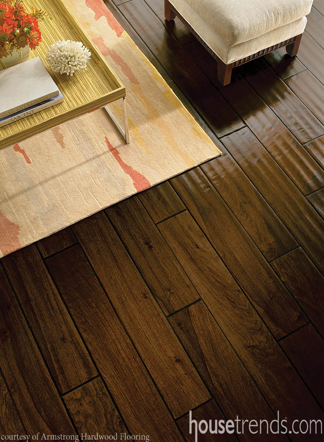 Cabinetry wood becomes a popular flooring option