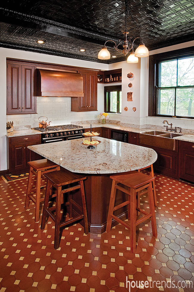 Kitchen Renovation Takes A Note From History