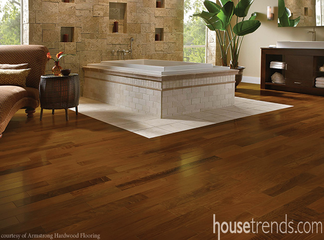 Flooring blends safety and looks