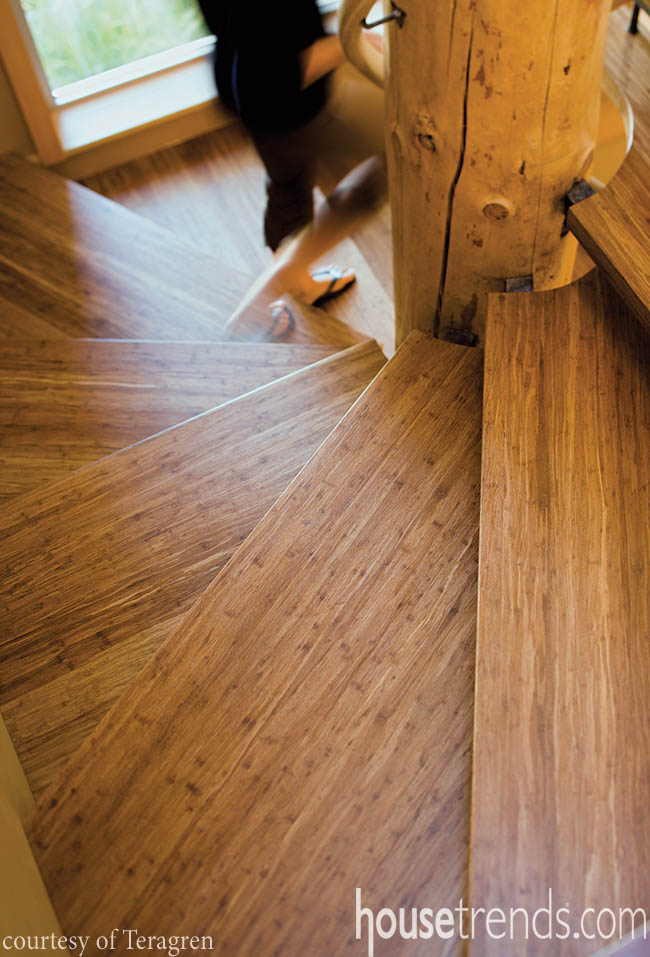 Bamboo flooring goes with everything