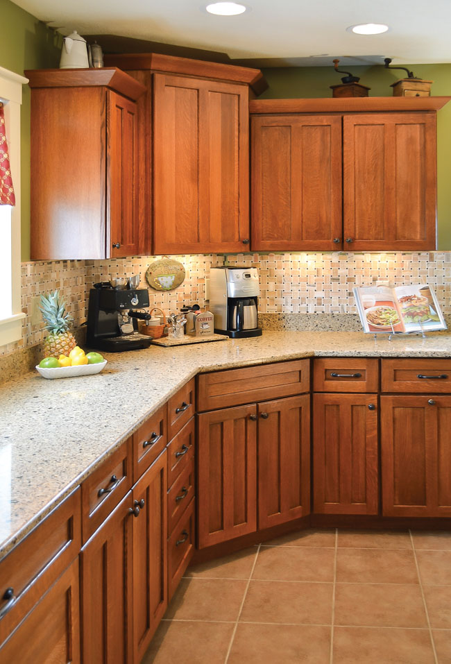 Kitchen design that makes you green with envy