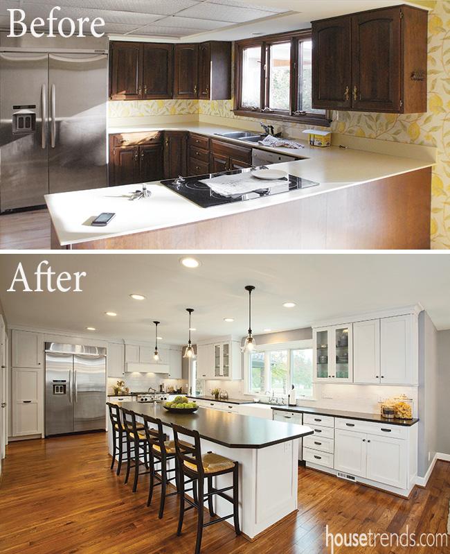Kitchen lighting ideas keep the area looking modern
