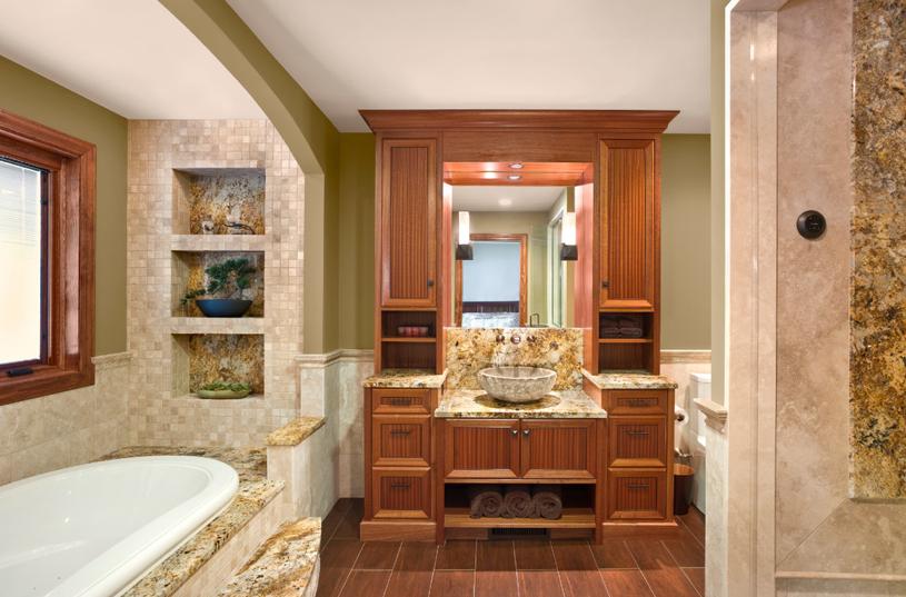 Bathroom remodel ideas create relaxing getaway