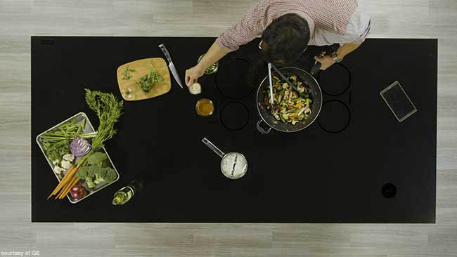 New kitchen island design embraces technology