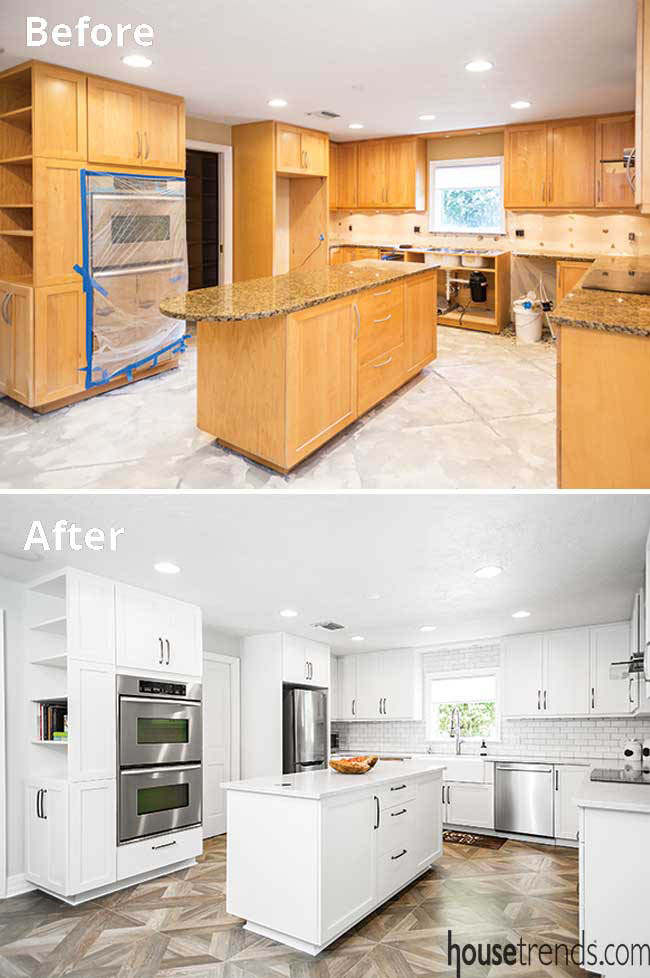 Kitchen cabinetry gets a new face