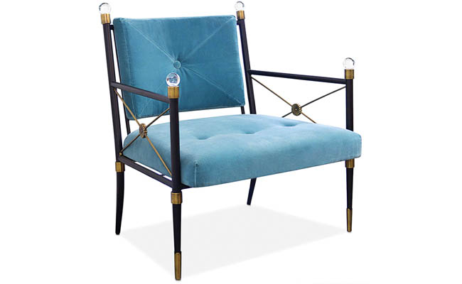 Small details make a lounge chair pop