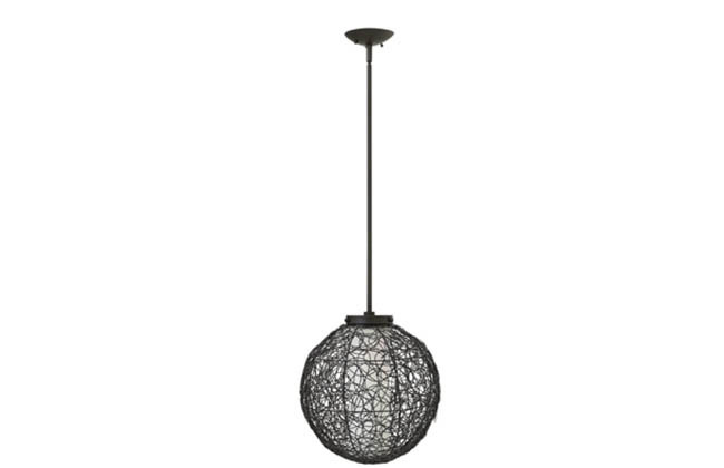 Pendant lighting combines form and function
