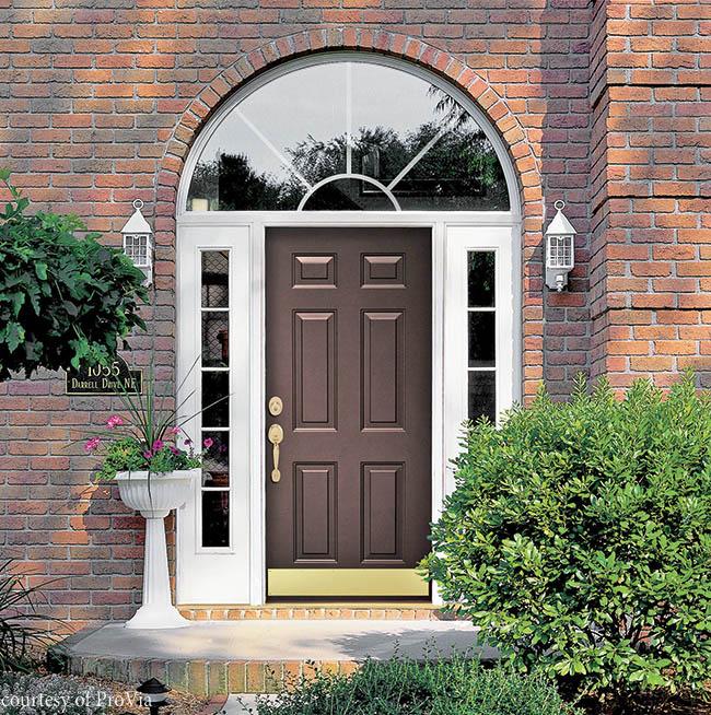 Steel doors offer additional security