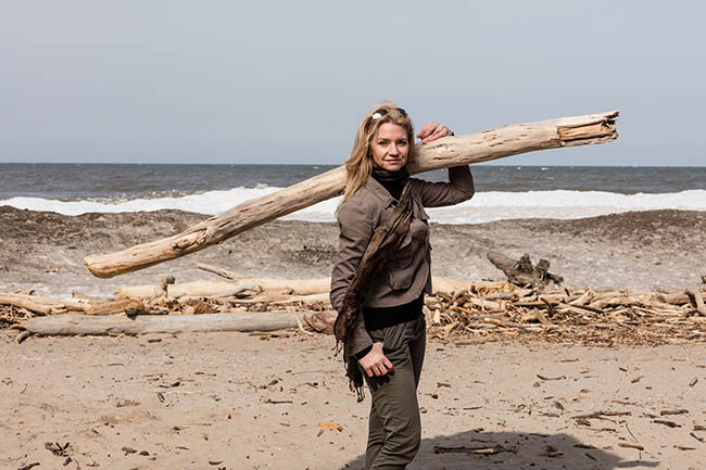 Driftwood continues to be popular in home design