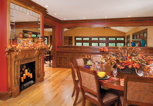 The fall of dining room decor ideas