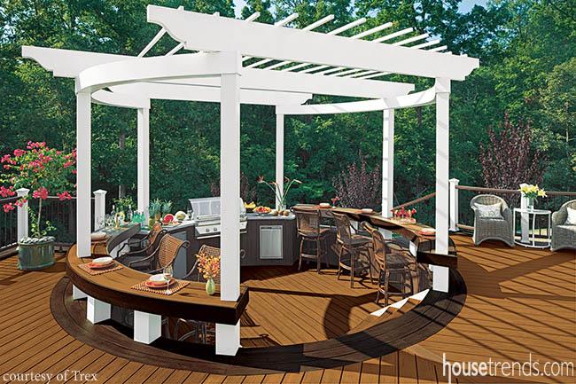 Deck designs display different personalities