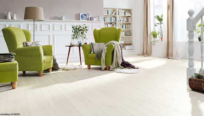 Flooring with an extra protective layer