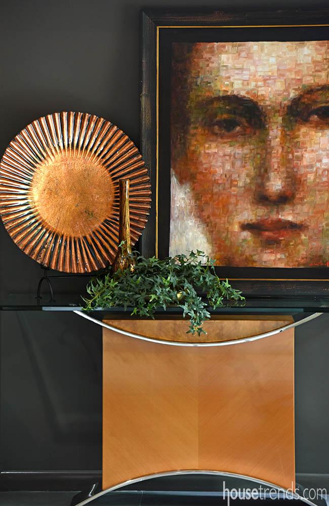 Foyer boasts eye-catching display