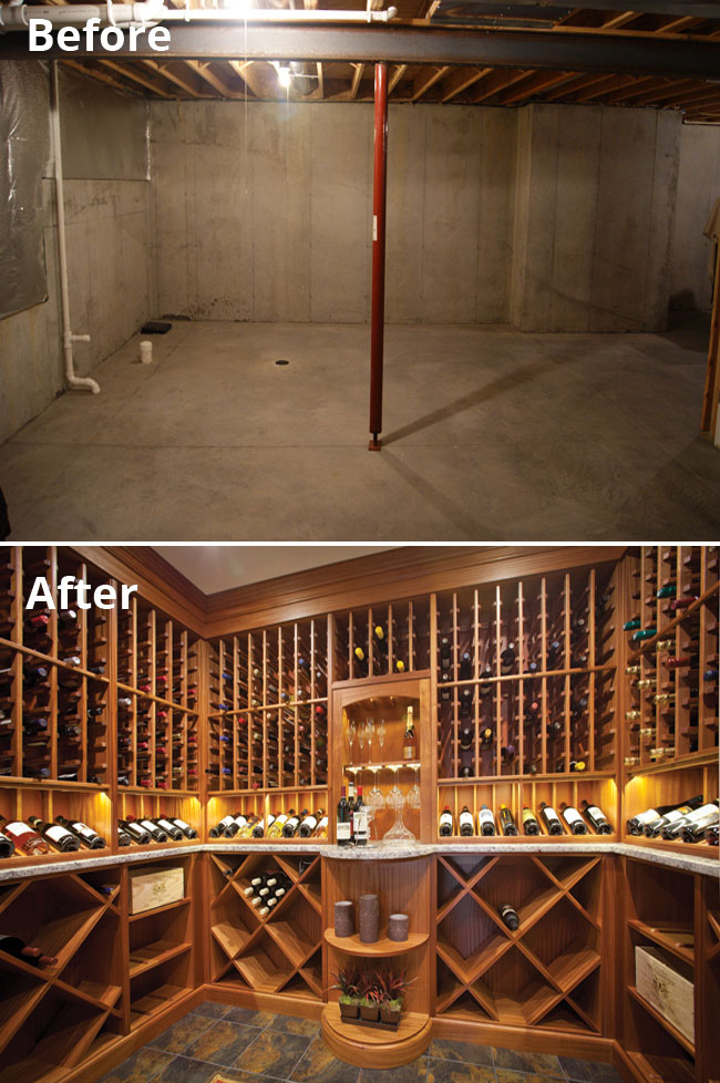 Home wine racks keep the party going