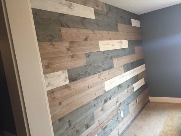 Easy Barnwood Feature Wall