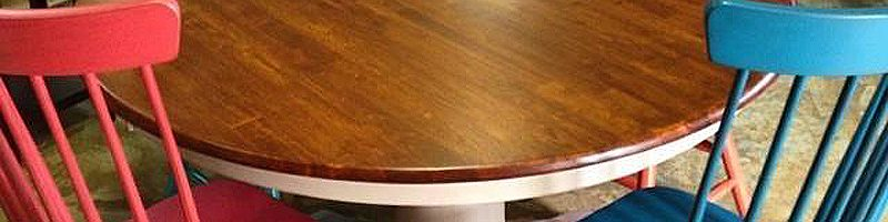 At Woodcraft Furniture You Pick The Color Housetrends Blog