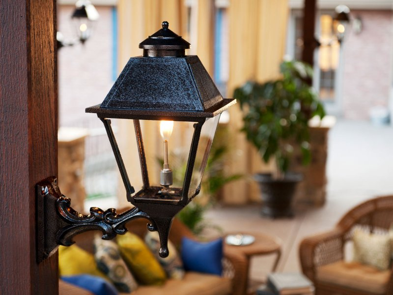 Gas Lamp Sconce