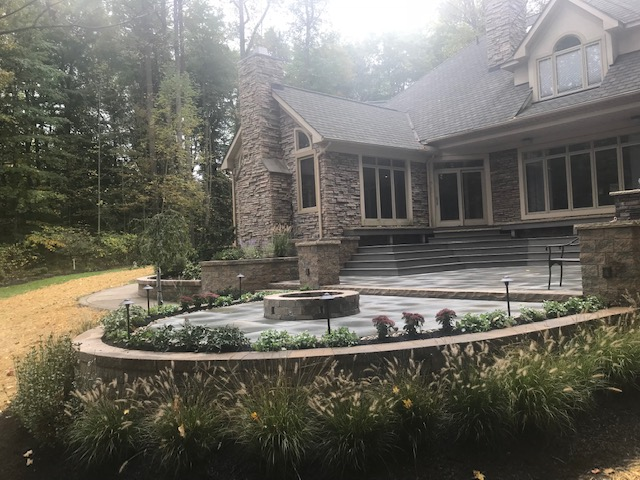 Landscaping Patio and Deck Designs by H&M Landscaping