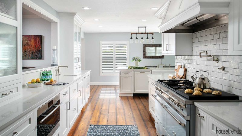 The Happy Place Is A Kitchen Remodel Serving Up Cheerful Style