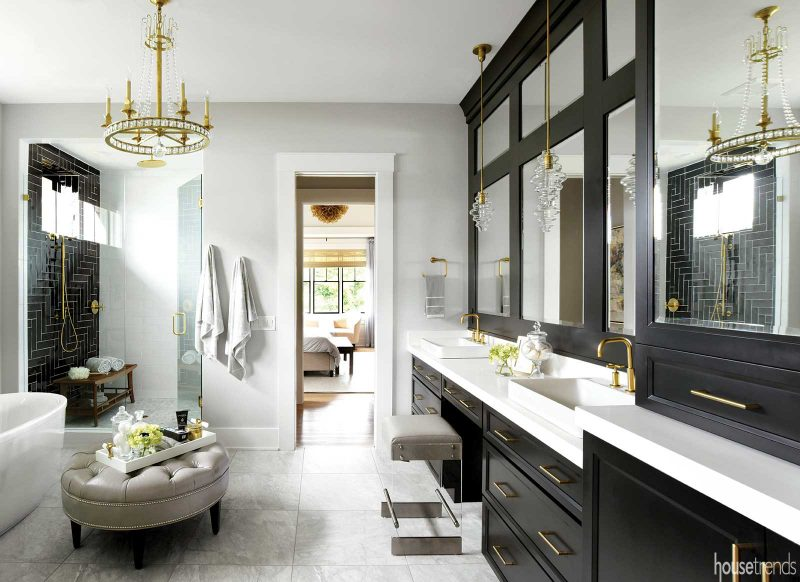 The Lustrous Alloy Of Brass Is Back In The Interior Design