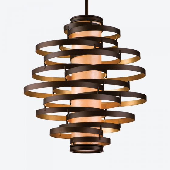 Vertigo pendant Corbett Lighting